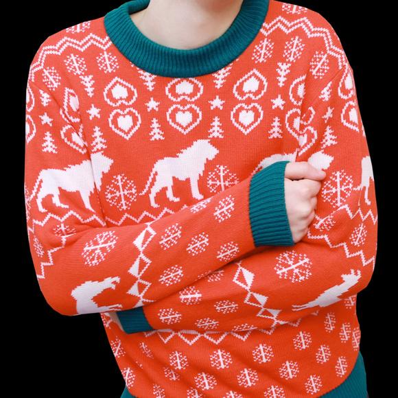 Dan And Phil Christmas Sweater.Dan And Phil Shop Ugly Christmas Sweater Small Nwt